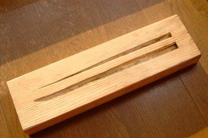 箸加工用治具
