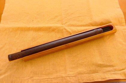 黒竹箸箱(大)