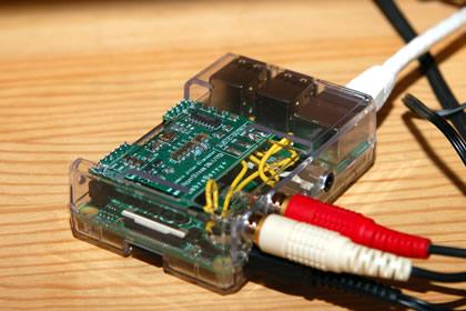 Rasberry Pi B+ に SabreBerry+