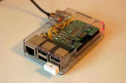 RaspberryPiModelB+ と GW-USNANO2A